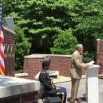 AL Stewart announces guest speaker at Memorial