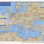 Map: World War II European Theater of Operations