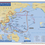 Map of WWII Pacific Theater