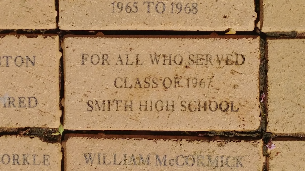 For all those who served Class of 1967 Smith High School