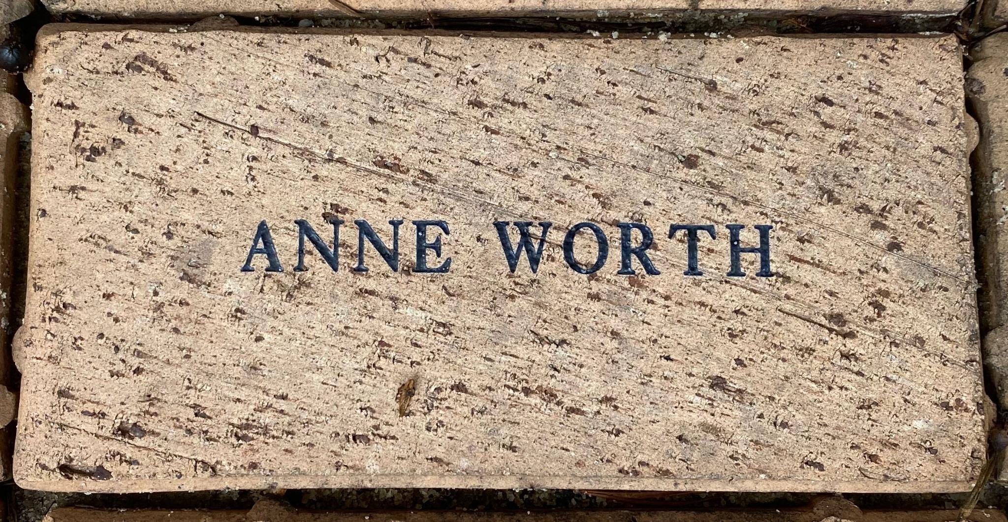 ANNE WORTH