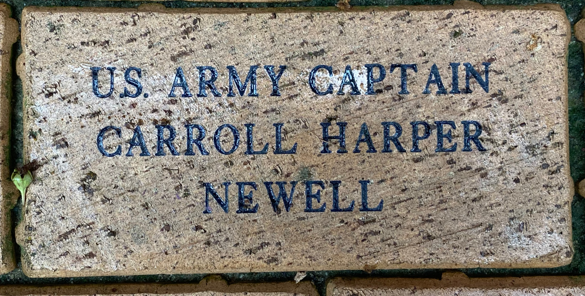 US ARMY CAPTAIN CARROLL HARPER NEWELL