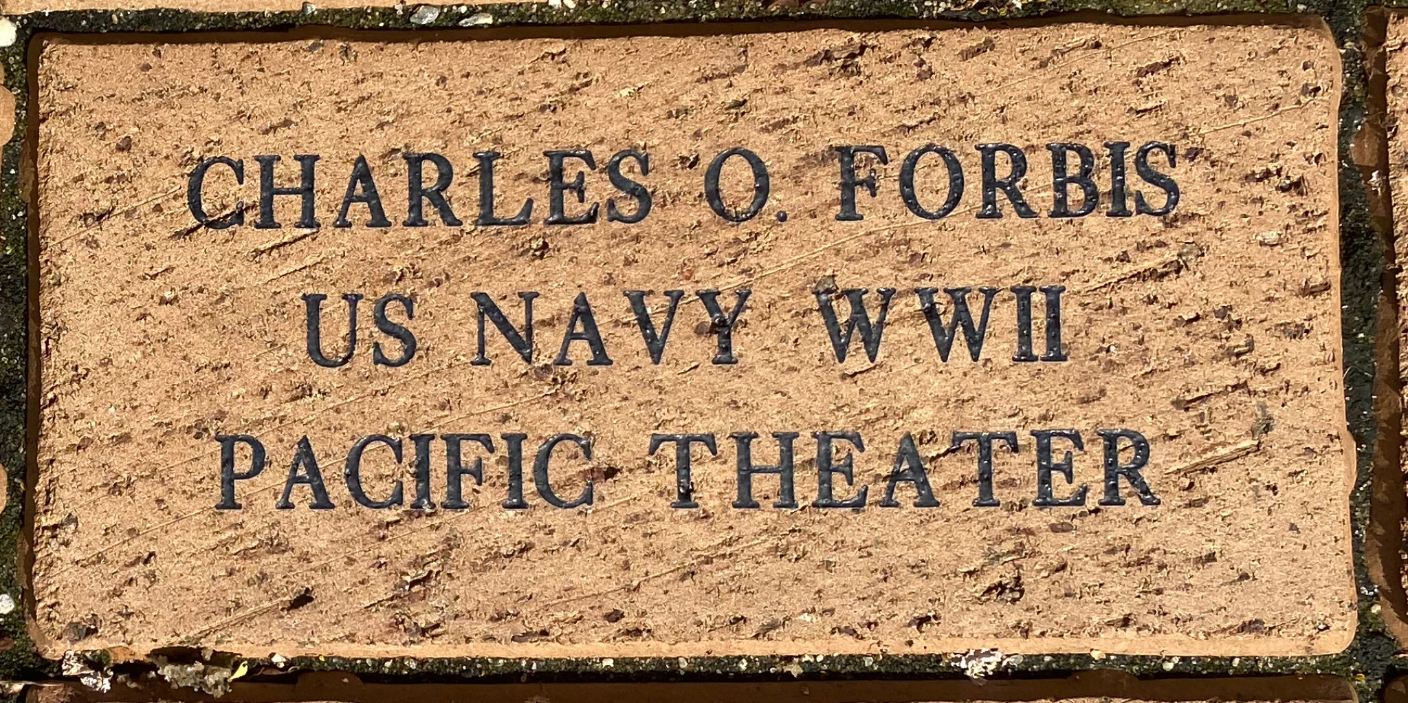 CHARLES O. FORBIS US NAVY WWII PACIFIC THEATER