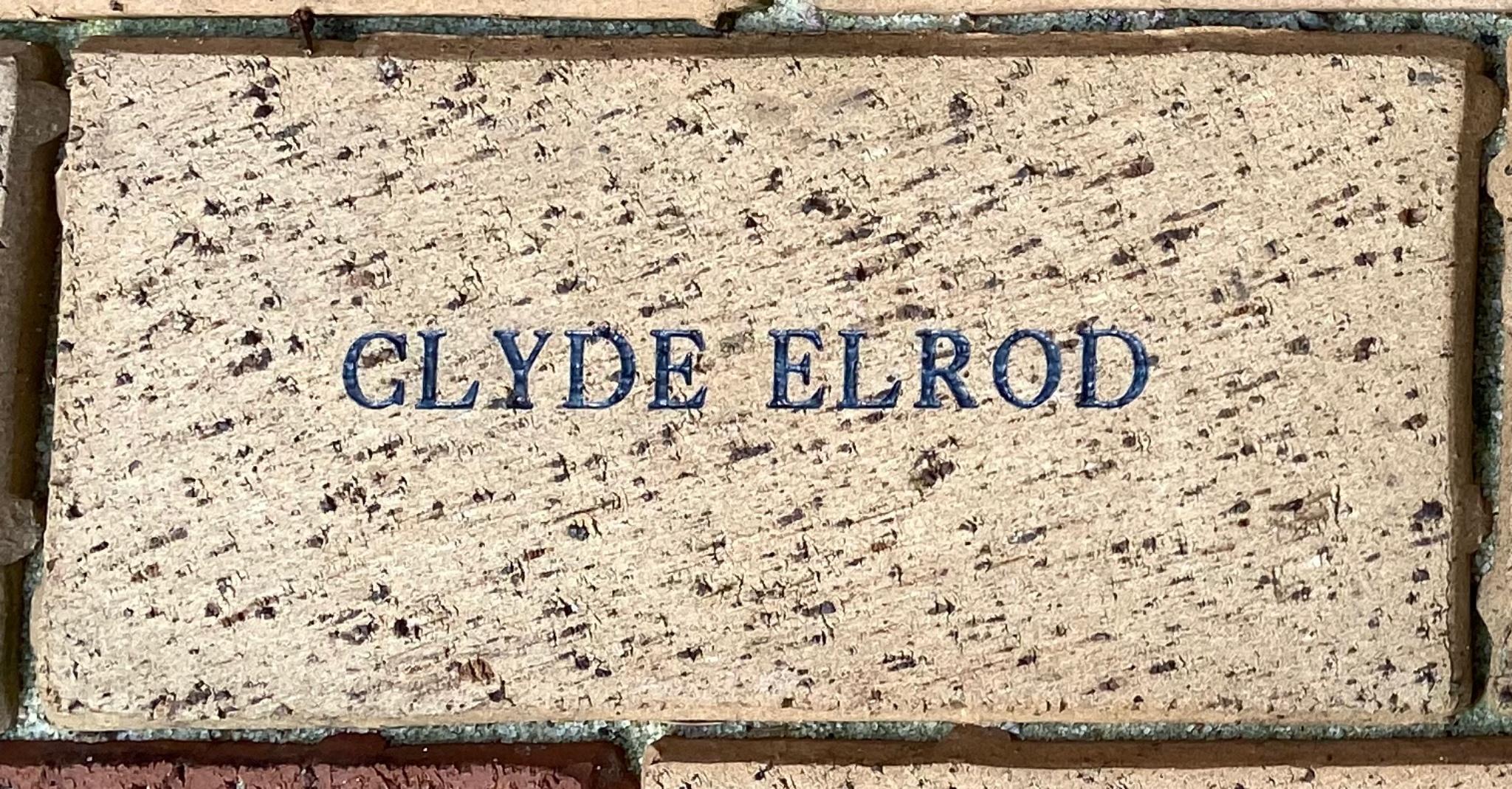 CLYDE ELROD