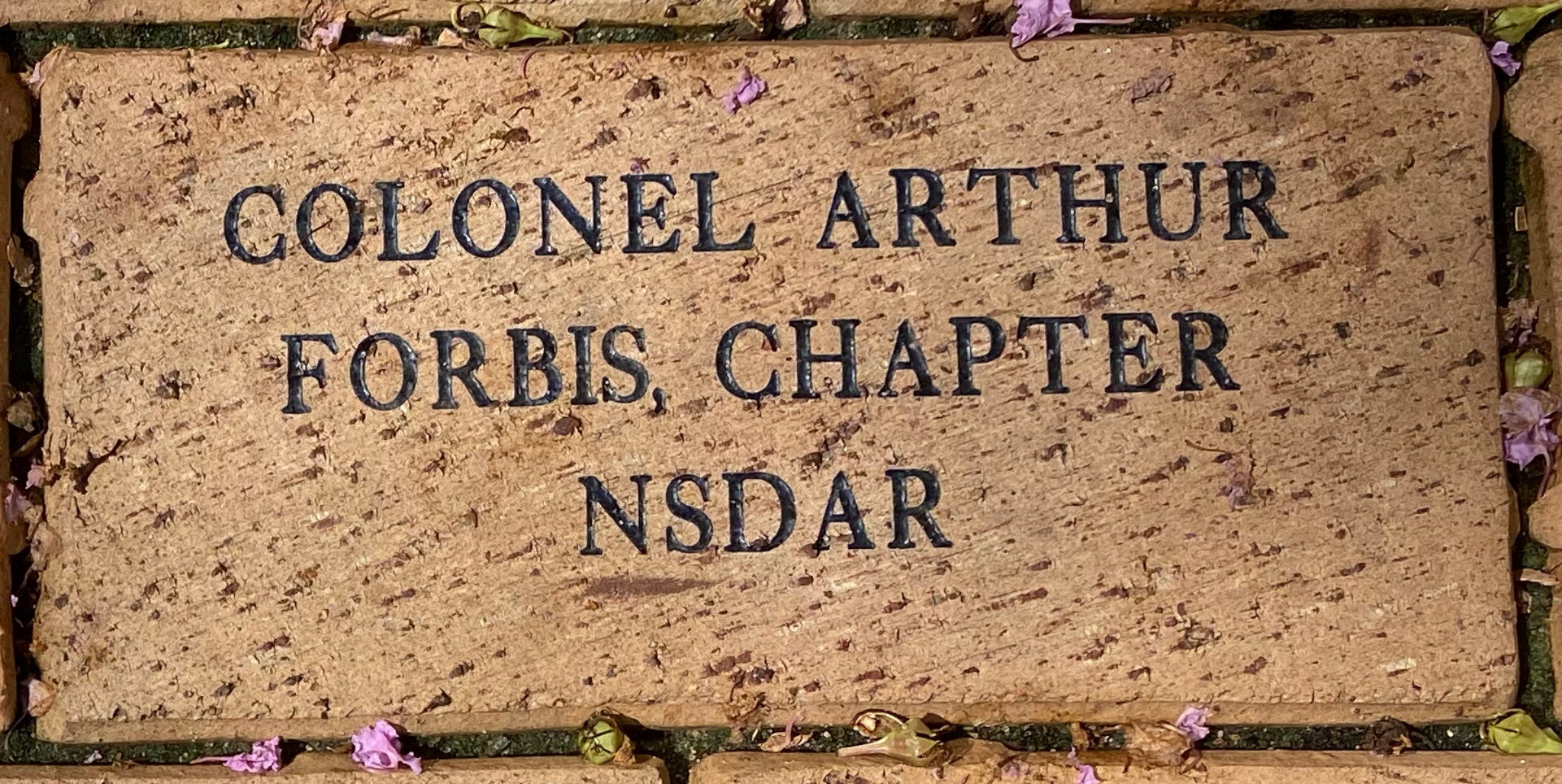 COL. ARTHUR FORBIS CHAPTER, NSDAR