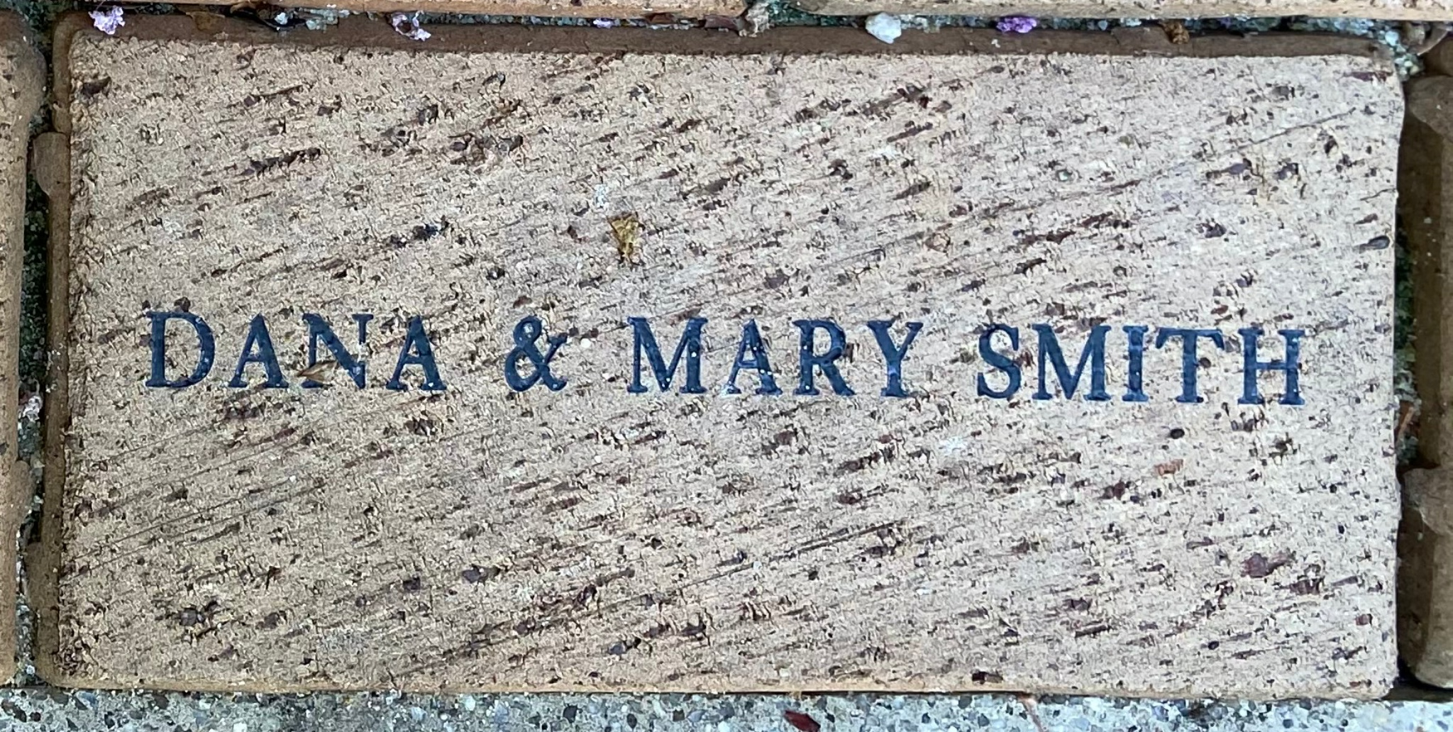 DANA & MARY SMITH
