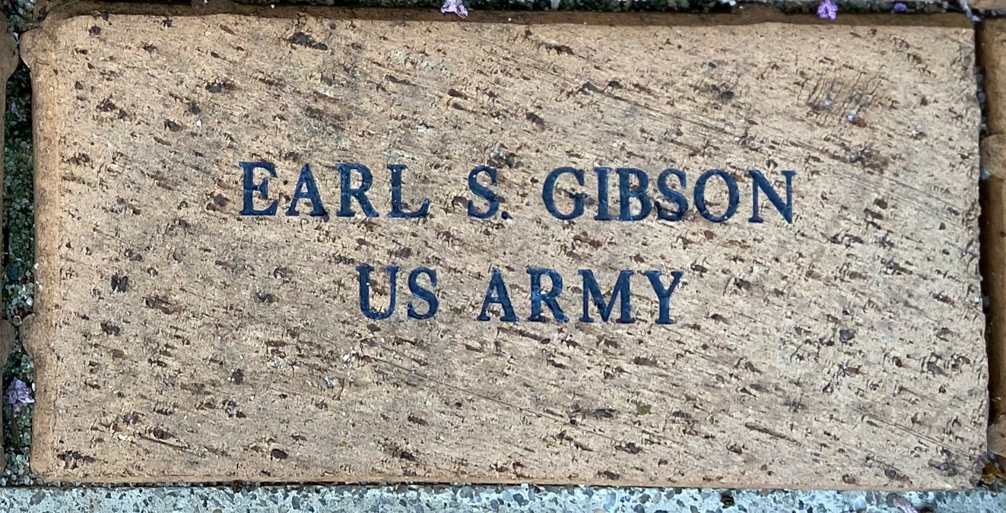 EARL S. GIBSON US ARMY