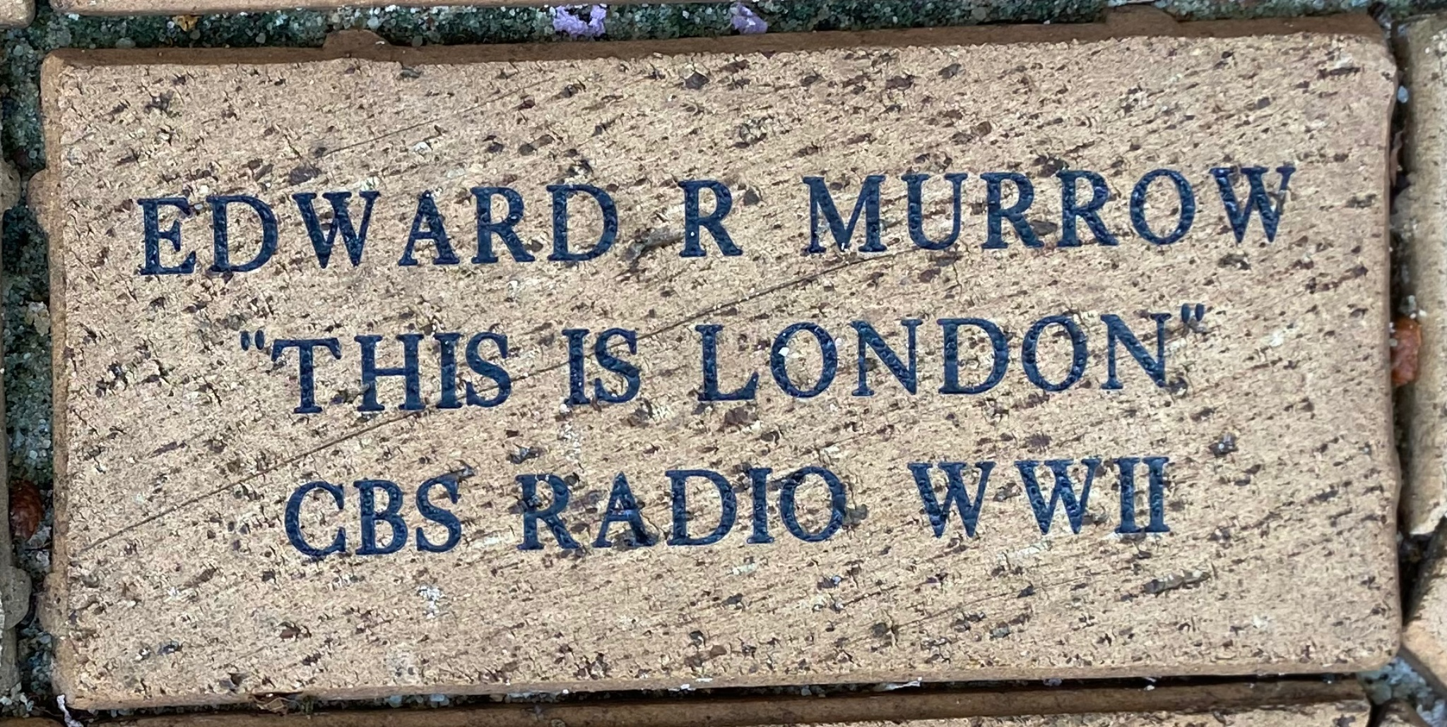 "EDWARD R MURROW ""THIS IS LONDON"" CBS RADIO WWII"