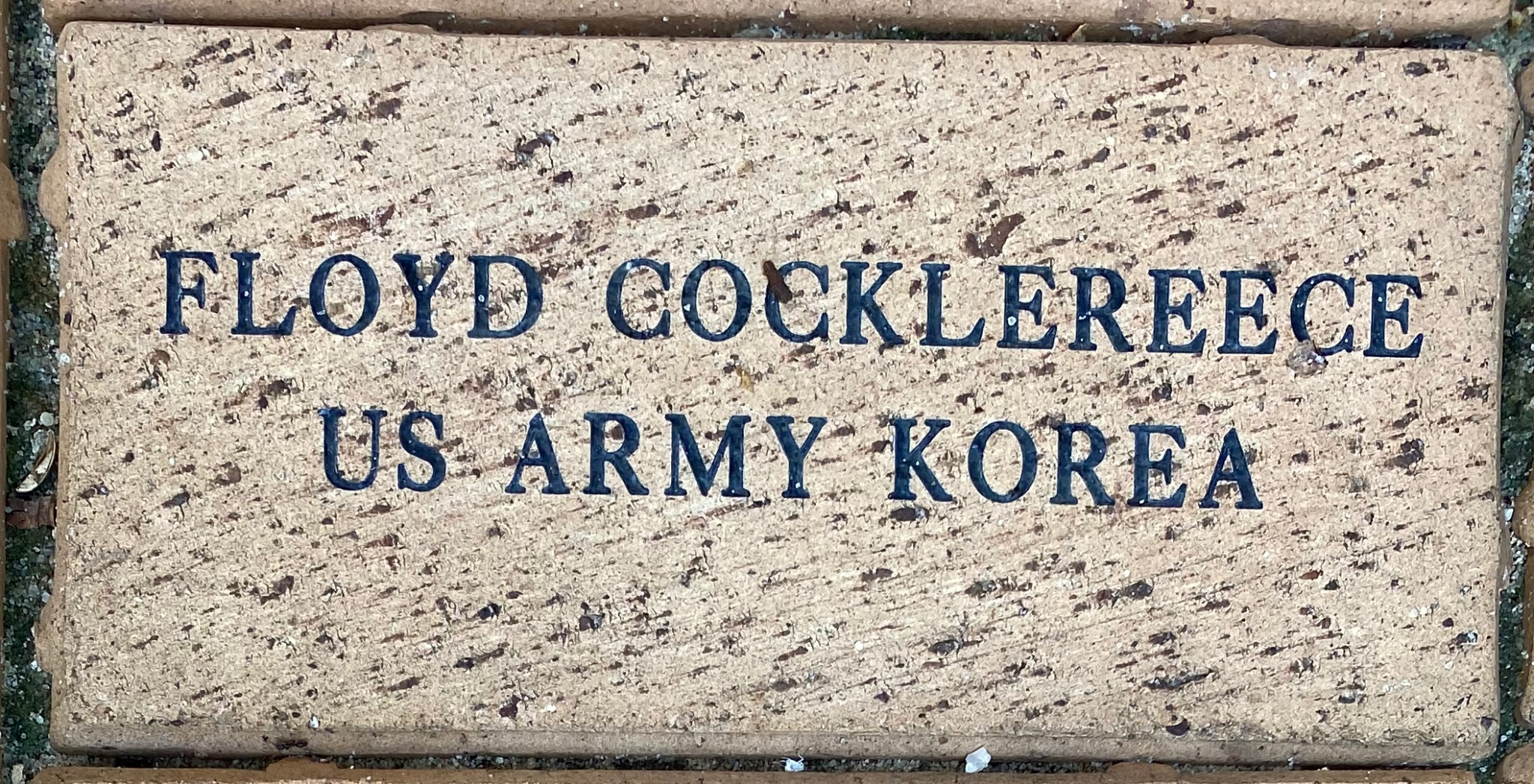 FLOYD COCKLEREECE US ARMY KOREA