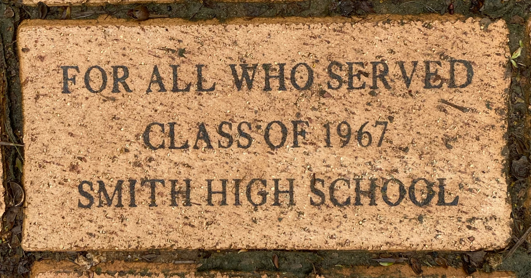 For all who served Class of 1967 Smith High School