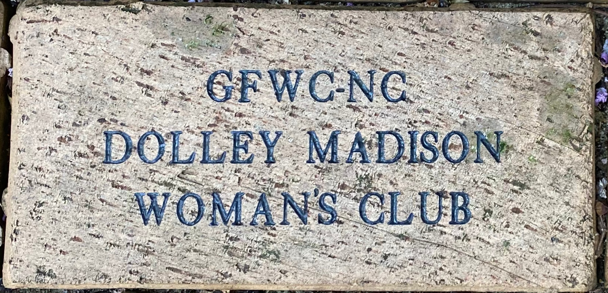 GFWC NC DOLLEY MADISON WOMAN'S CLUB