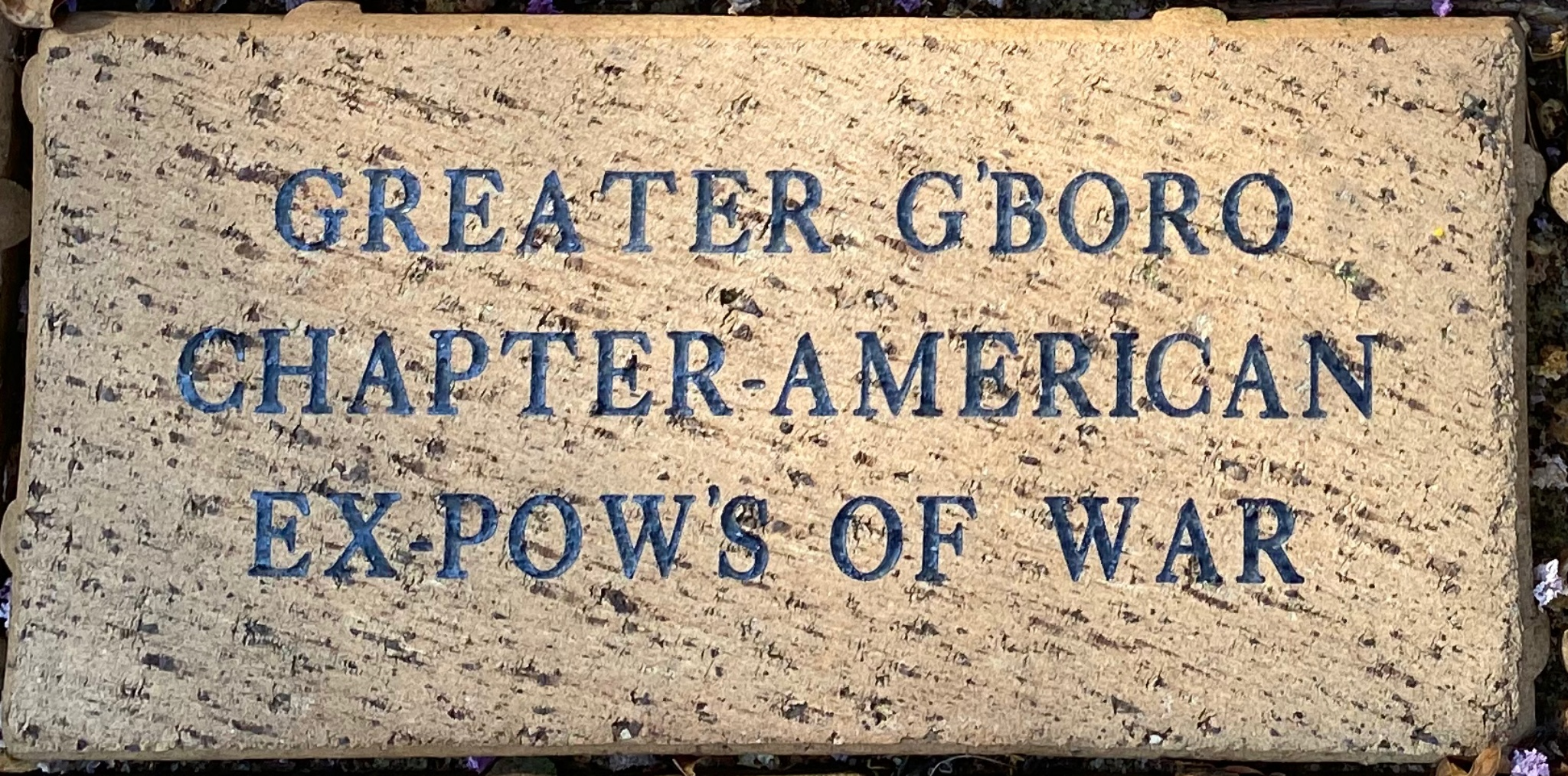 GREATER G'BORO CHAPTER C320-AMERICAN EX-POWS
