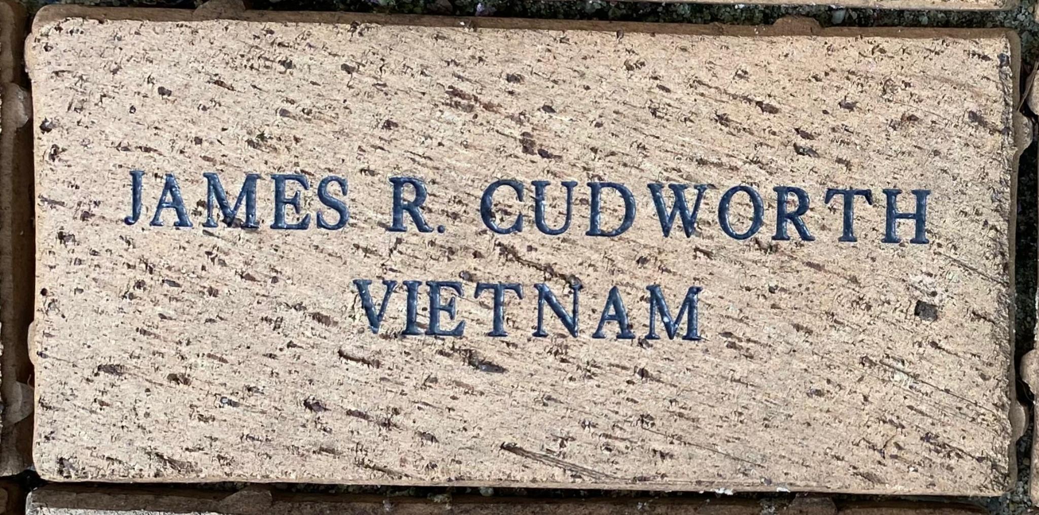 JAMES R. CUDWORTH VIETNAM