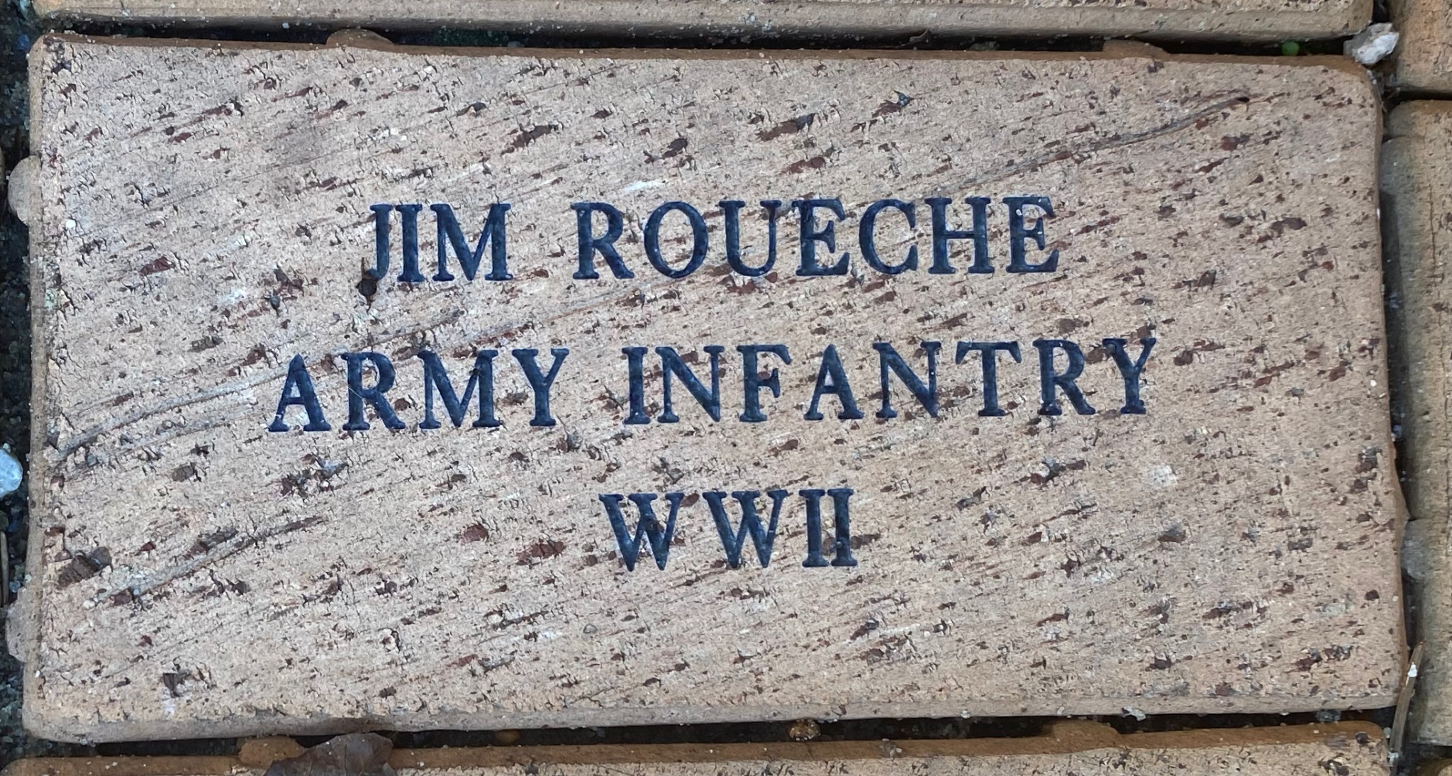 JIM ROUECHE ARMY INFANTRY WWII