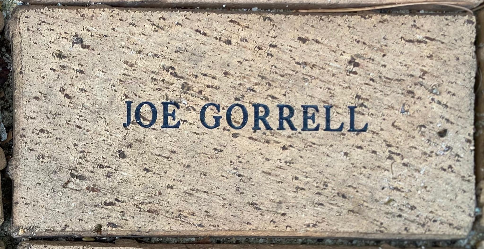 JOE GORRELL