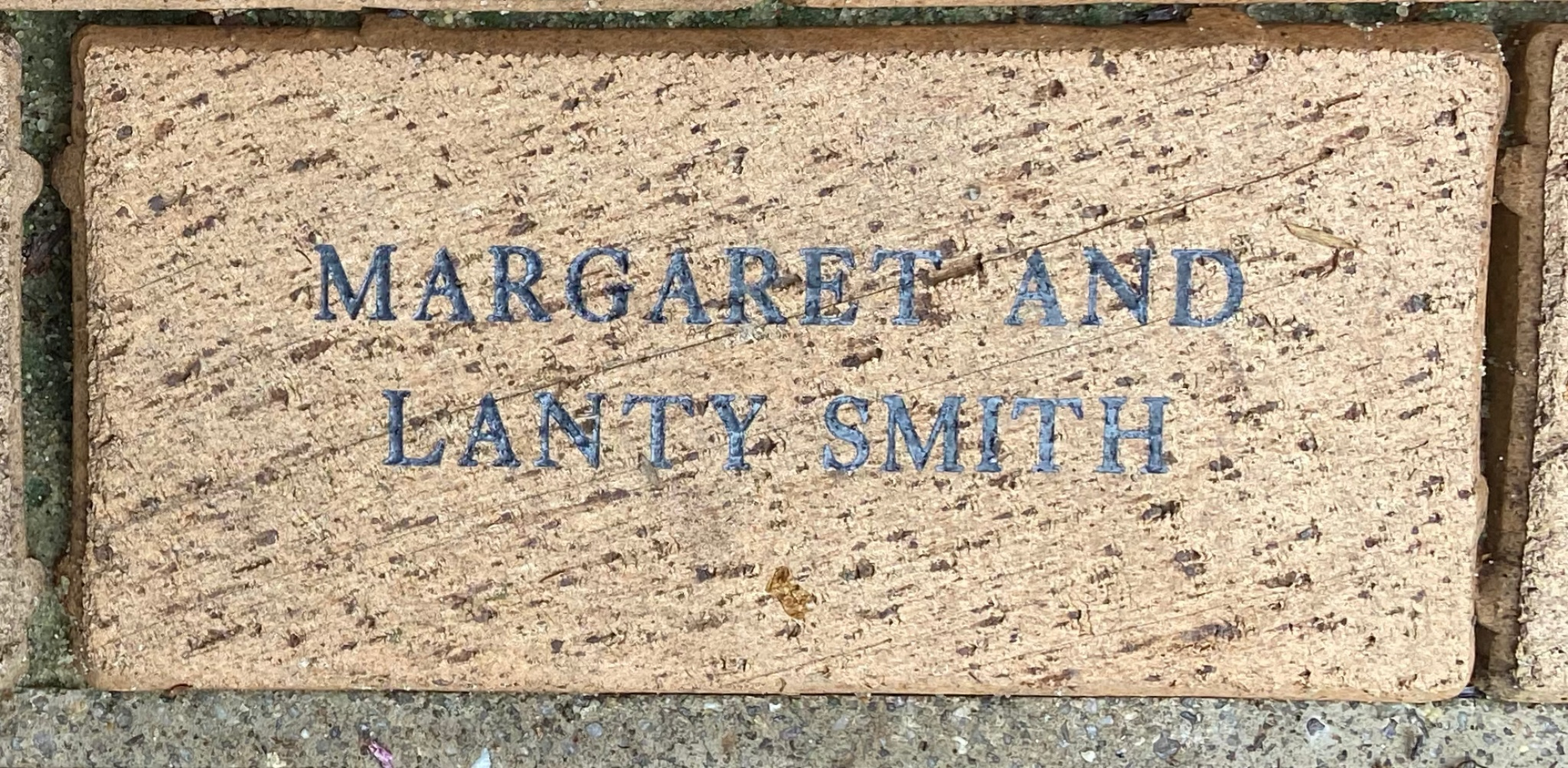 MARGARET AND LANTY SMITH