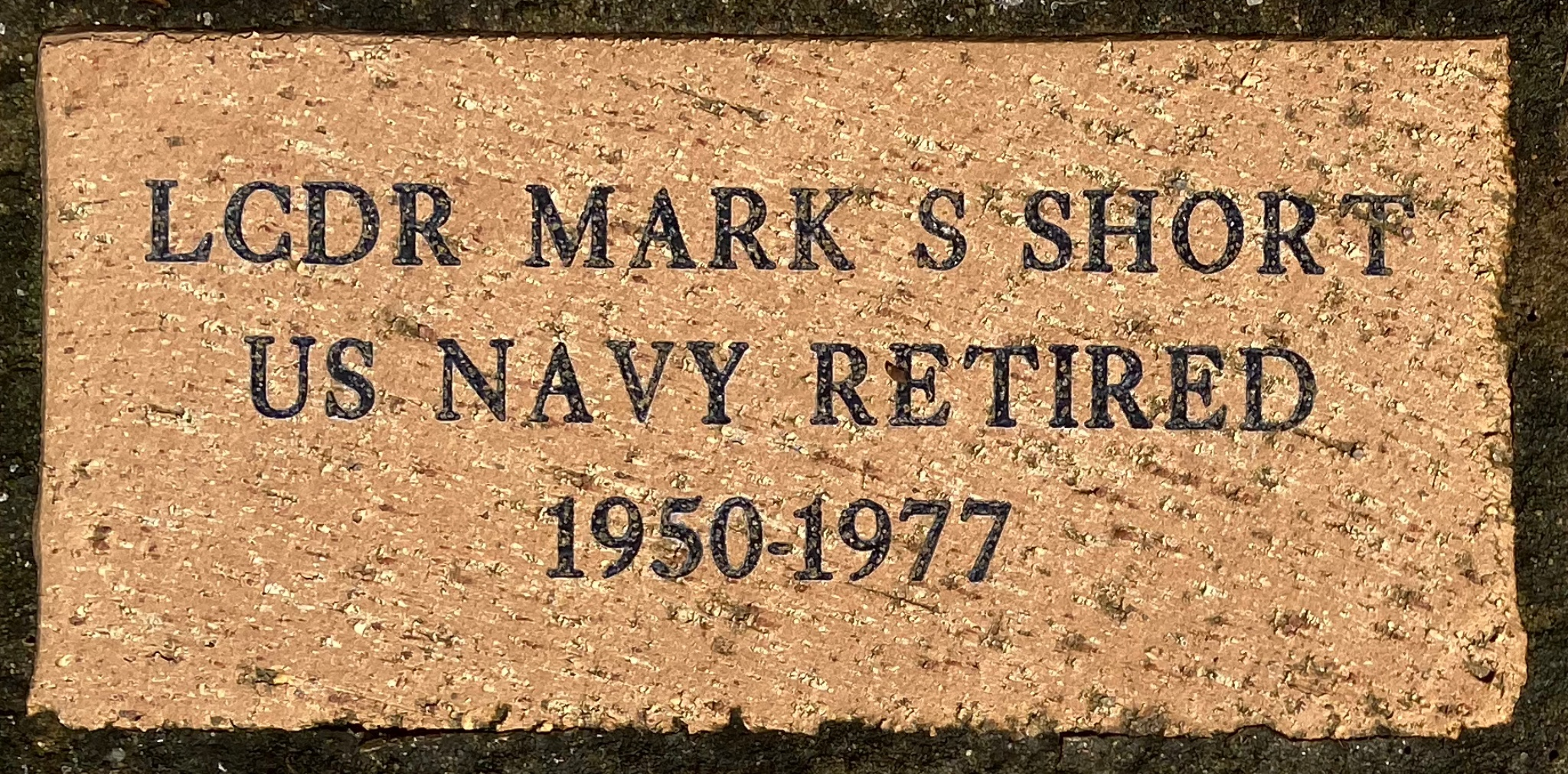 LCDR MARK S SHORT US NAVY RETIRED 1950-1977