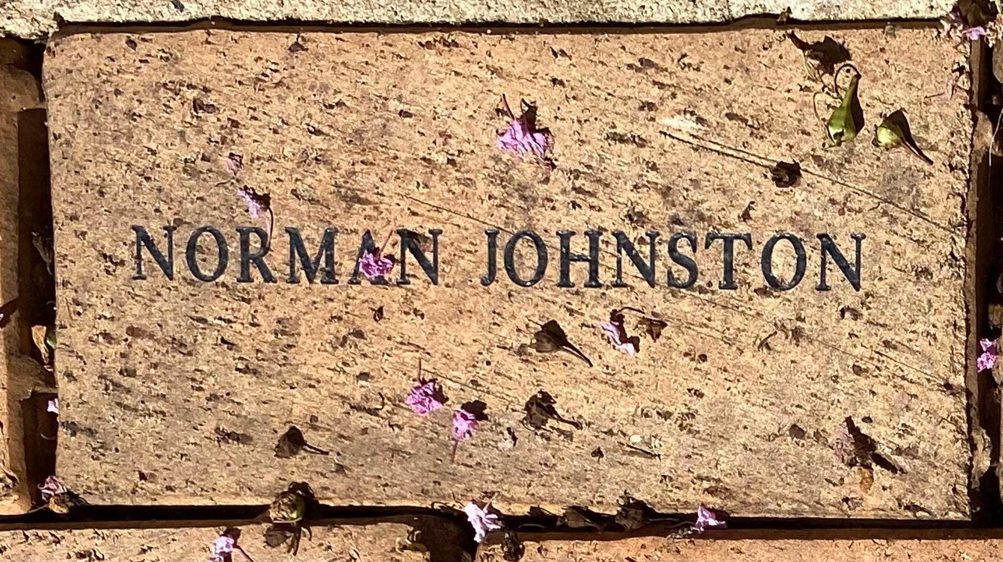 NORMAN JOHNSTON