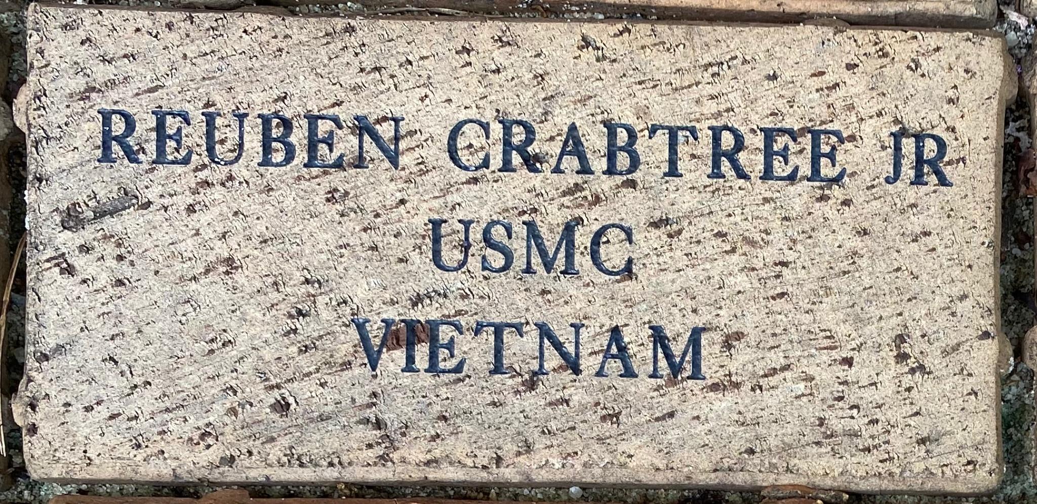 REUBEN CRABTREE JR USMC VIETNAM