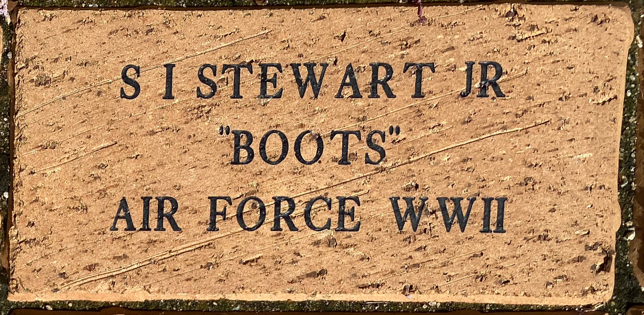 "S I STEWART JR ""BOOTS"" AIR FORCE WWII"