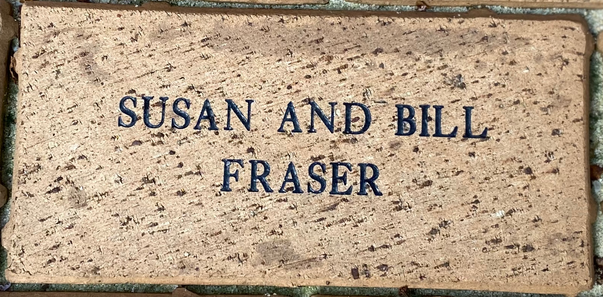 SUSAN AND BILL  FRASER