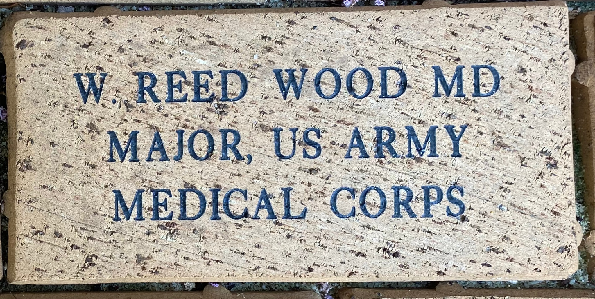 W. REED WOOD MD MAJOR, US ARMY MEDICAL CORPS
