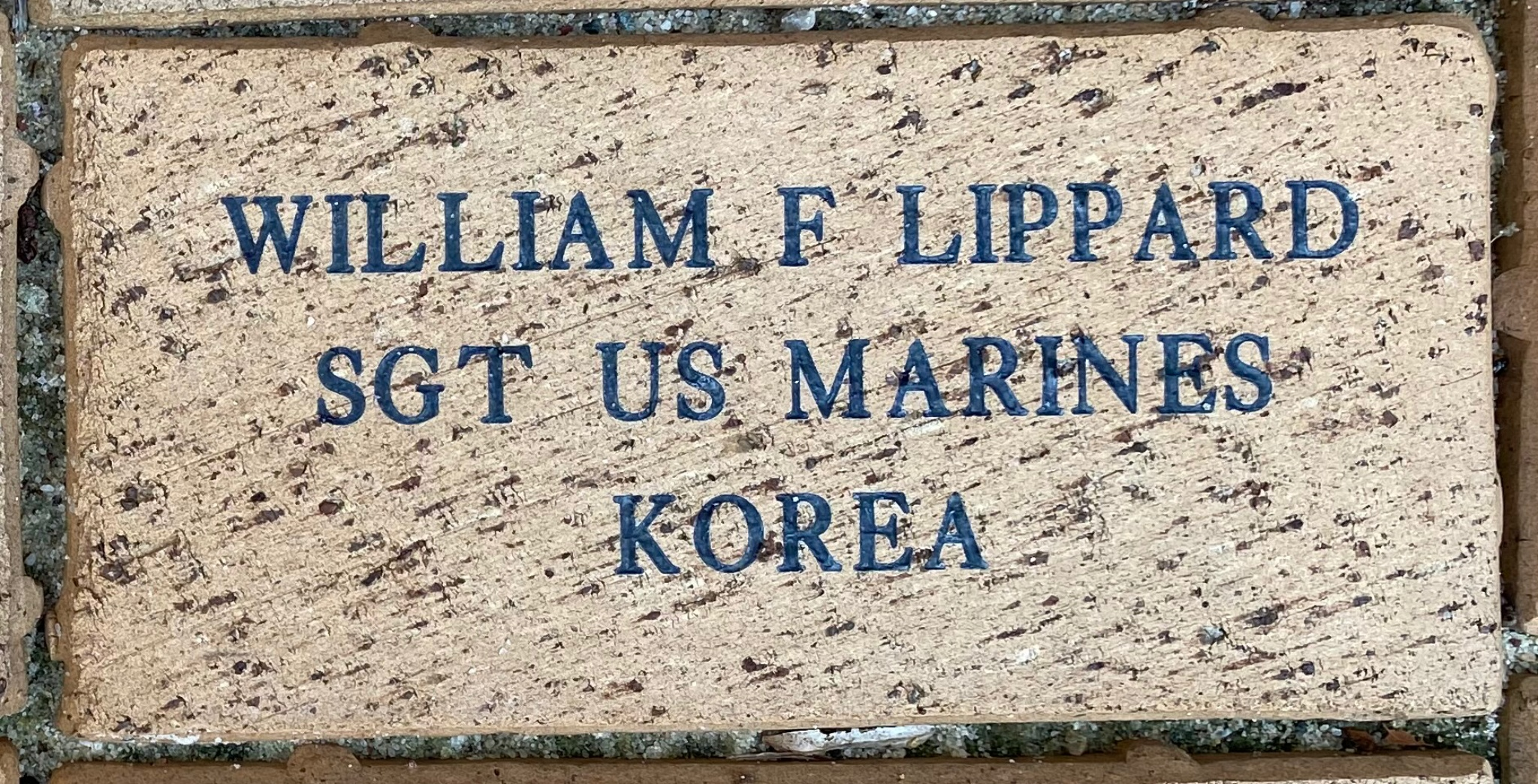WILLIAM F LIPPARD SGT US MARINES KOREA