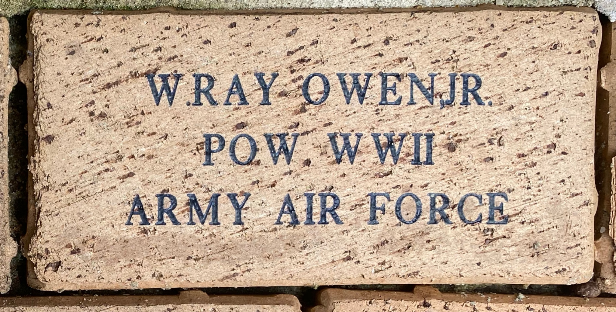 W. RAY OWEN,JR. POW WWII ARMY AIR FORCE