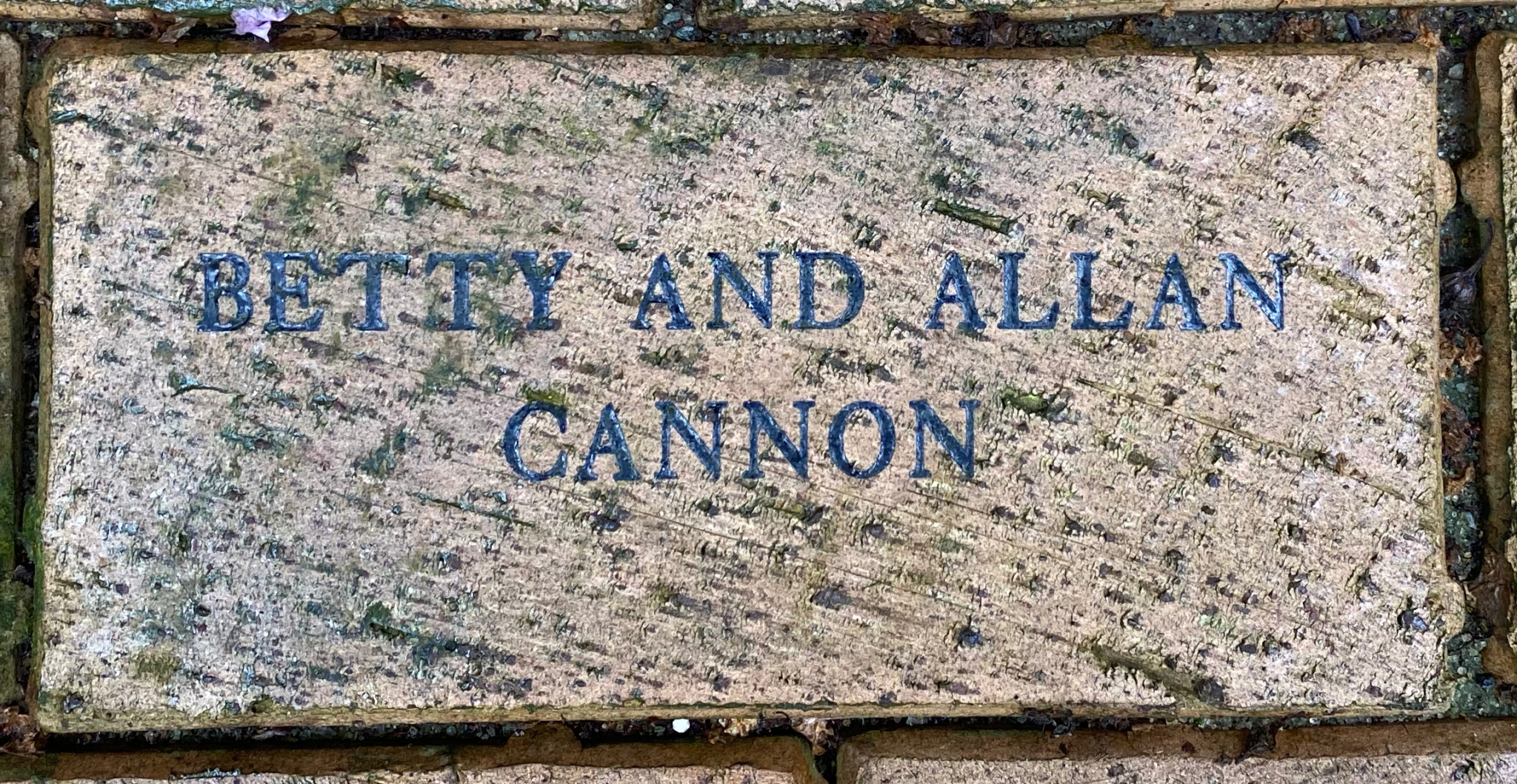 BETTY AND ALLAN  CANNON