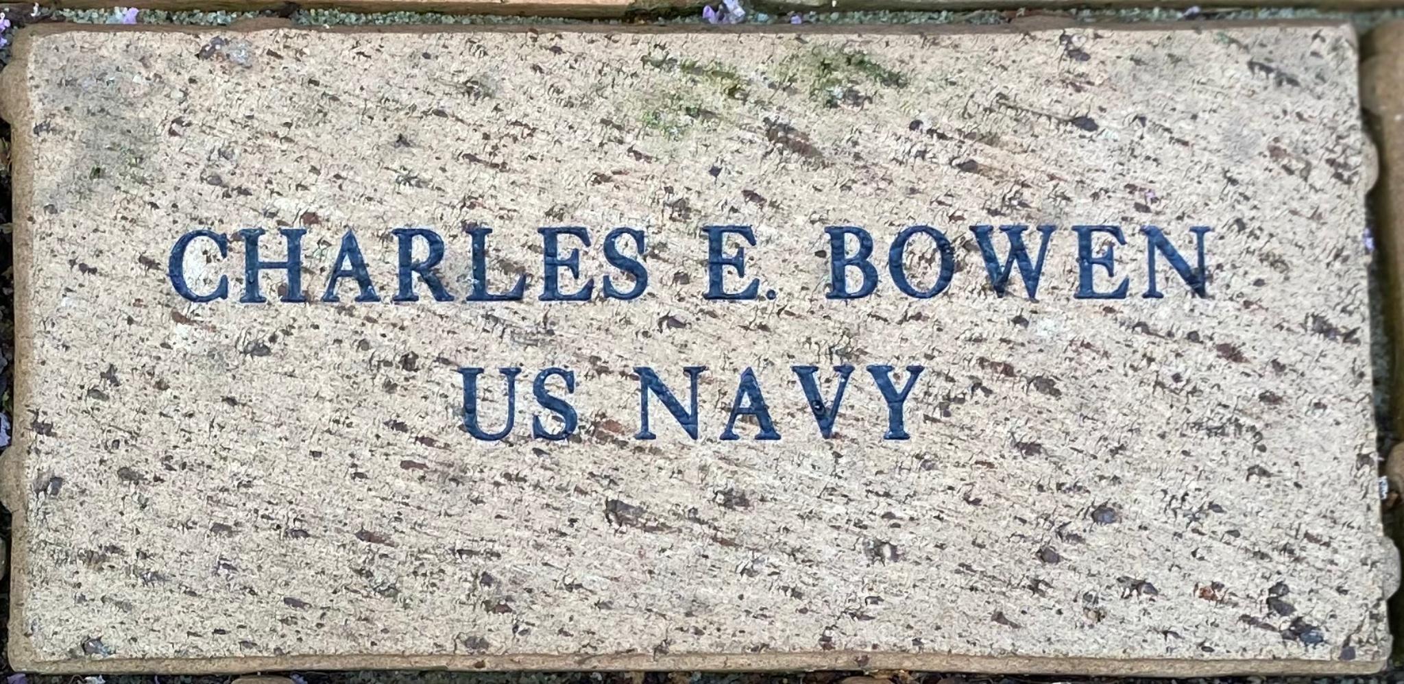 CHARLES E. BOWEN US NAVY