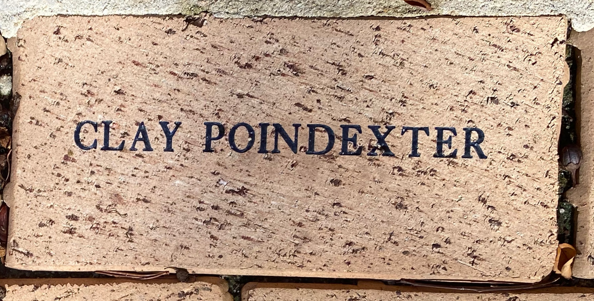 CLAY POINDEXTER