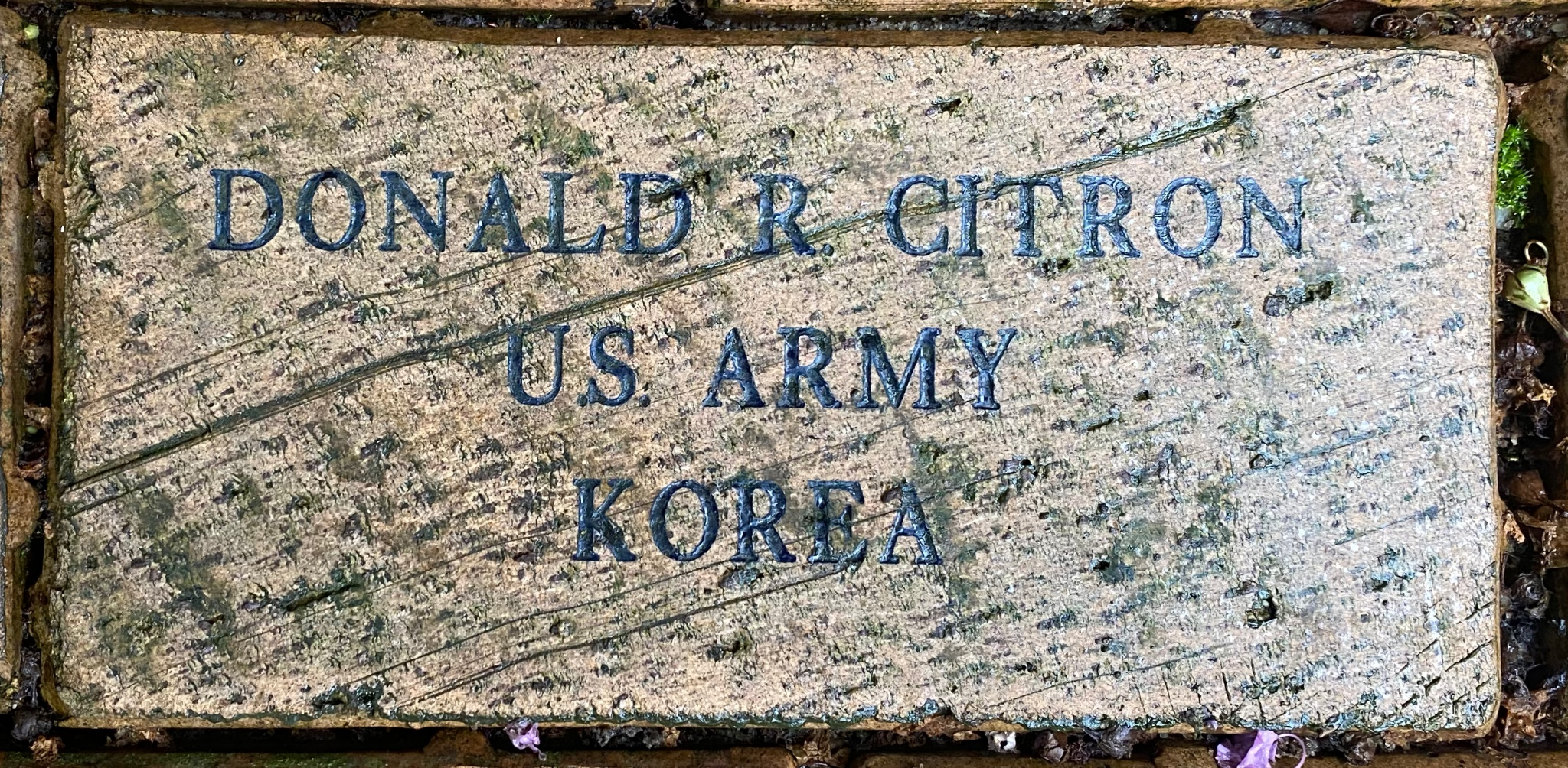 DONALD R. CITRON U.S. ARMY KOREA