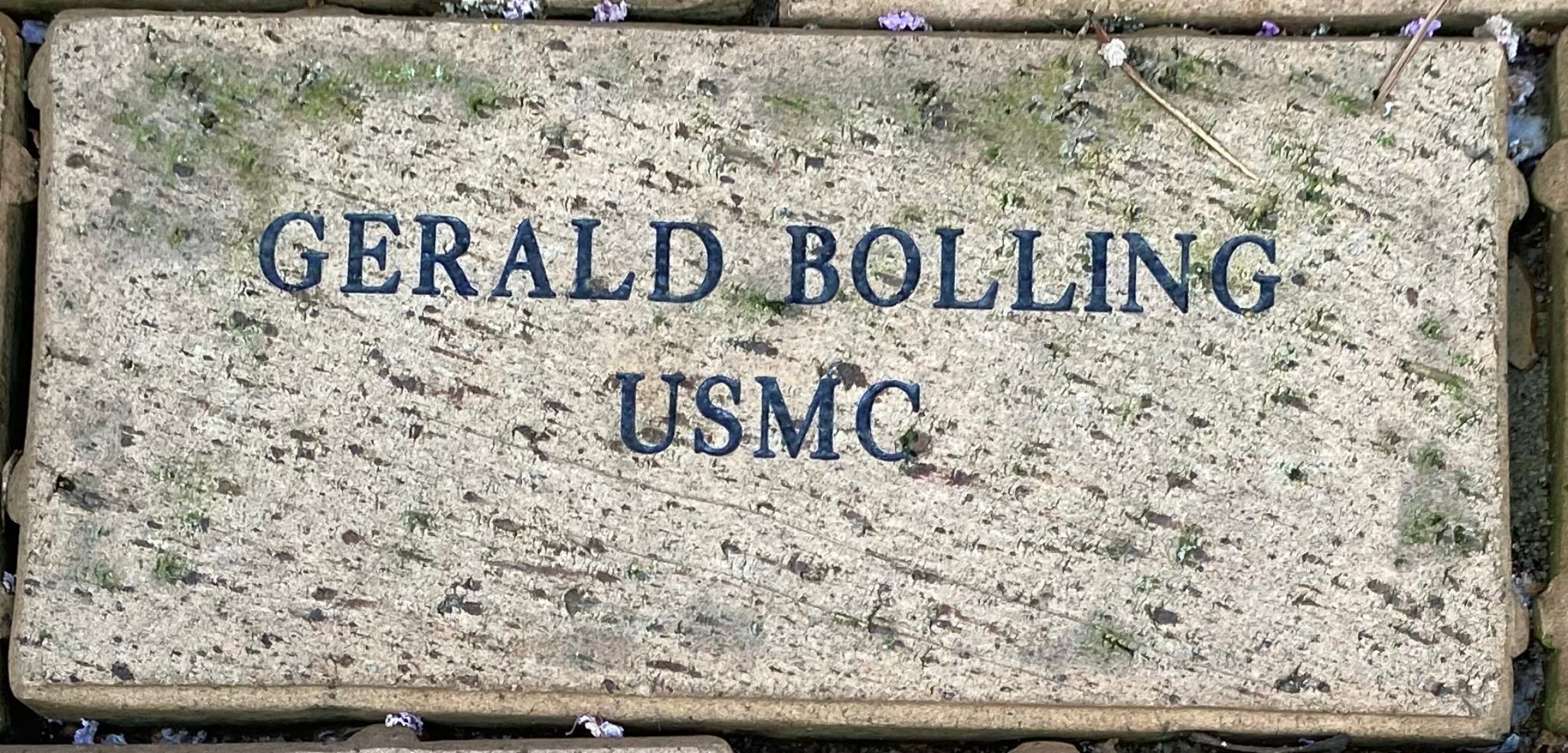 GERALD BOLLING USMC