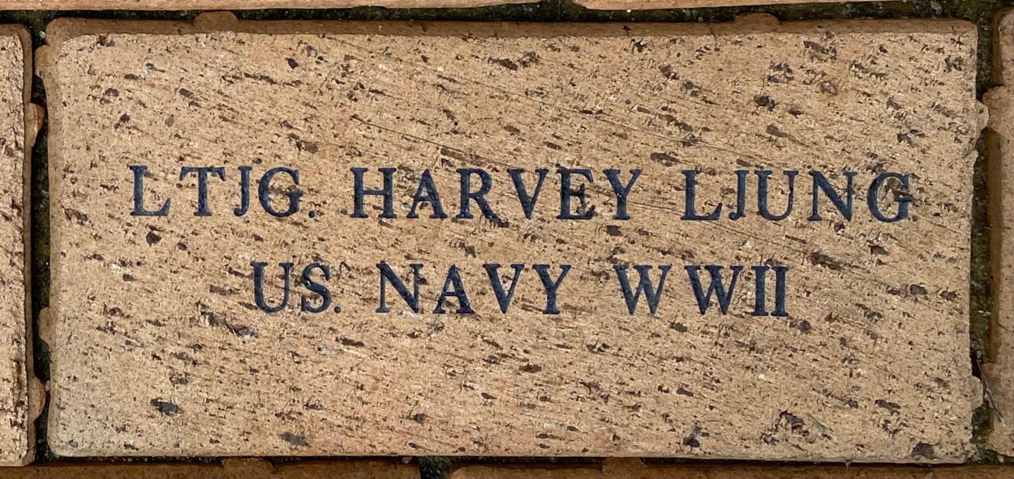 LTJG. HARVEY LJUNG US NAVY WWII