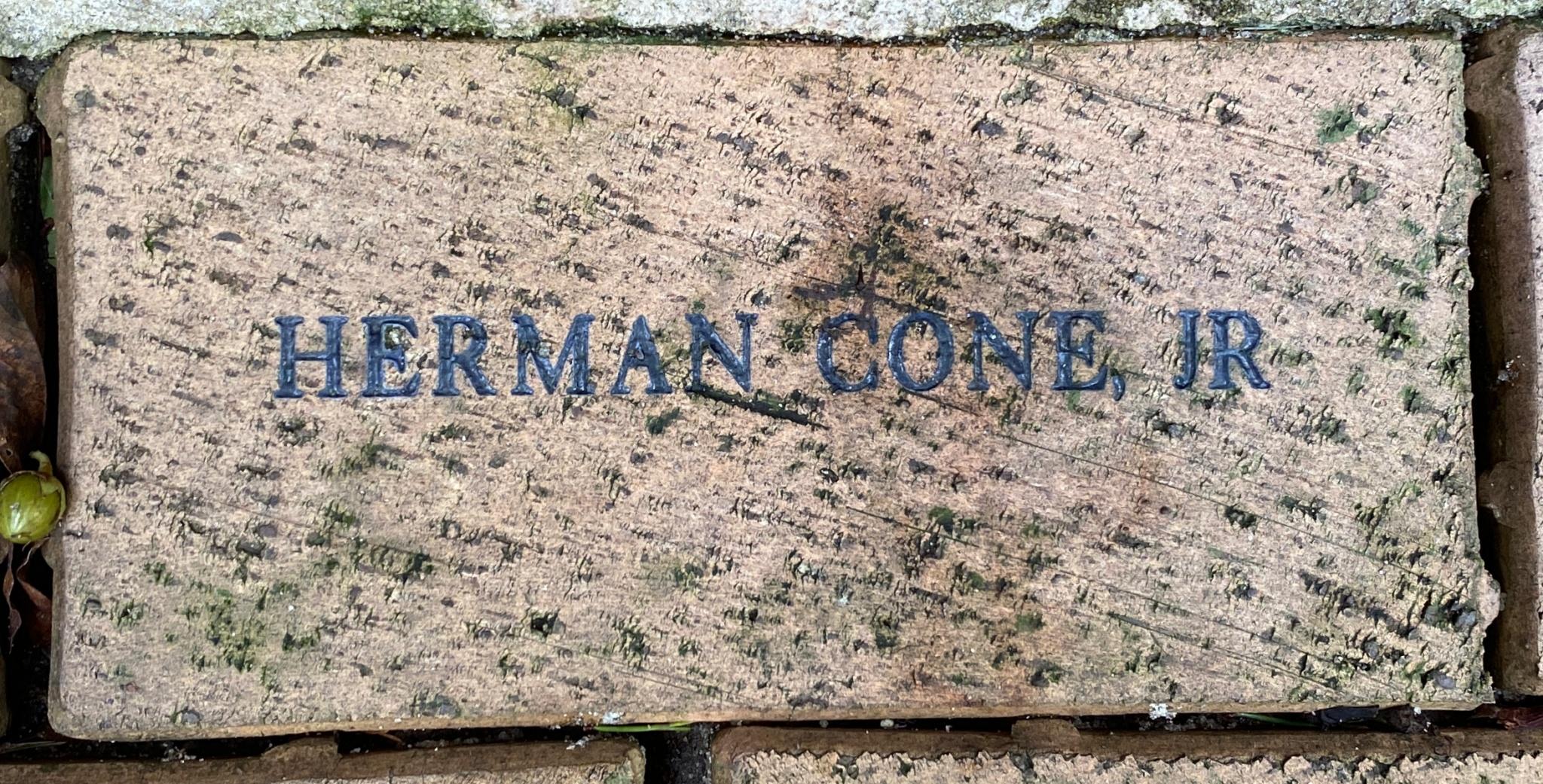 HERMAN CONE, JR