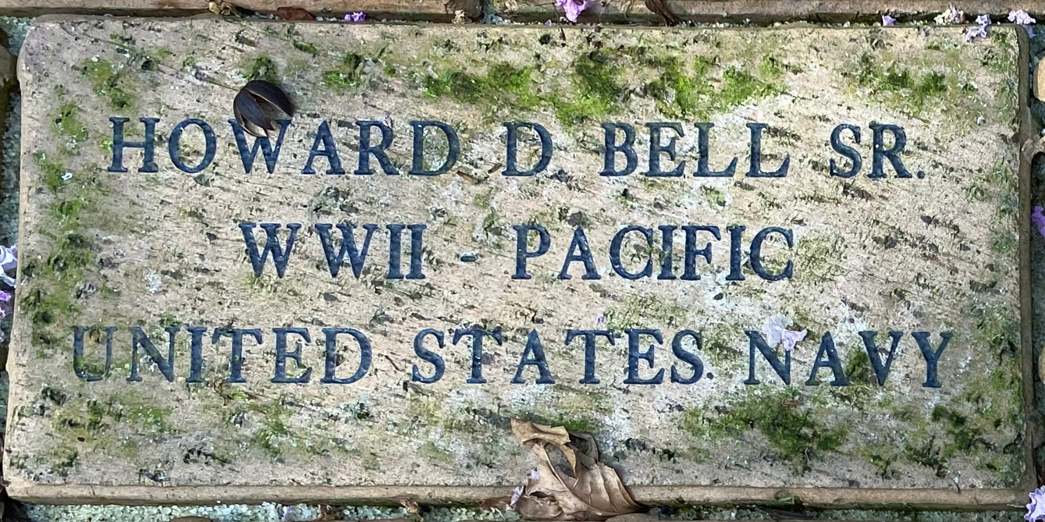 HOWARD D. BELL, SR WWII –PACIFIC UNITED STATES NAVY