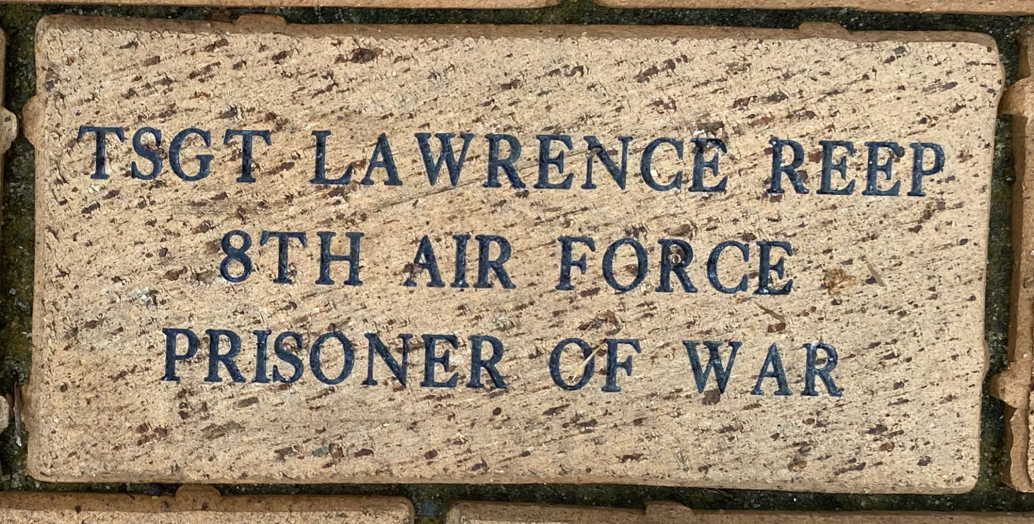 TSGT LAWRENCE REEP 8TH AIR FORCE PRISONER OF WAR