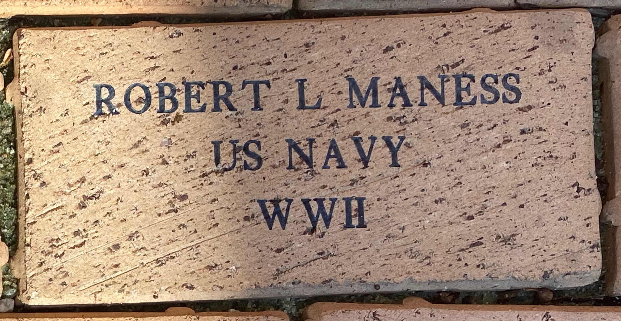 ROBERT L. MANESS US NAVY WWII