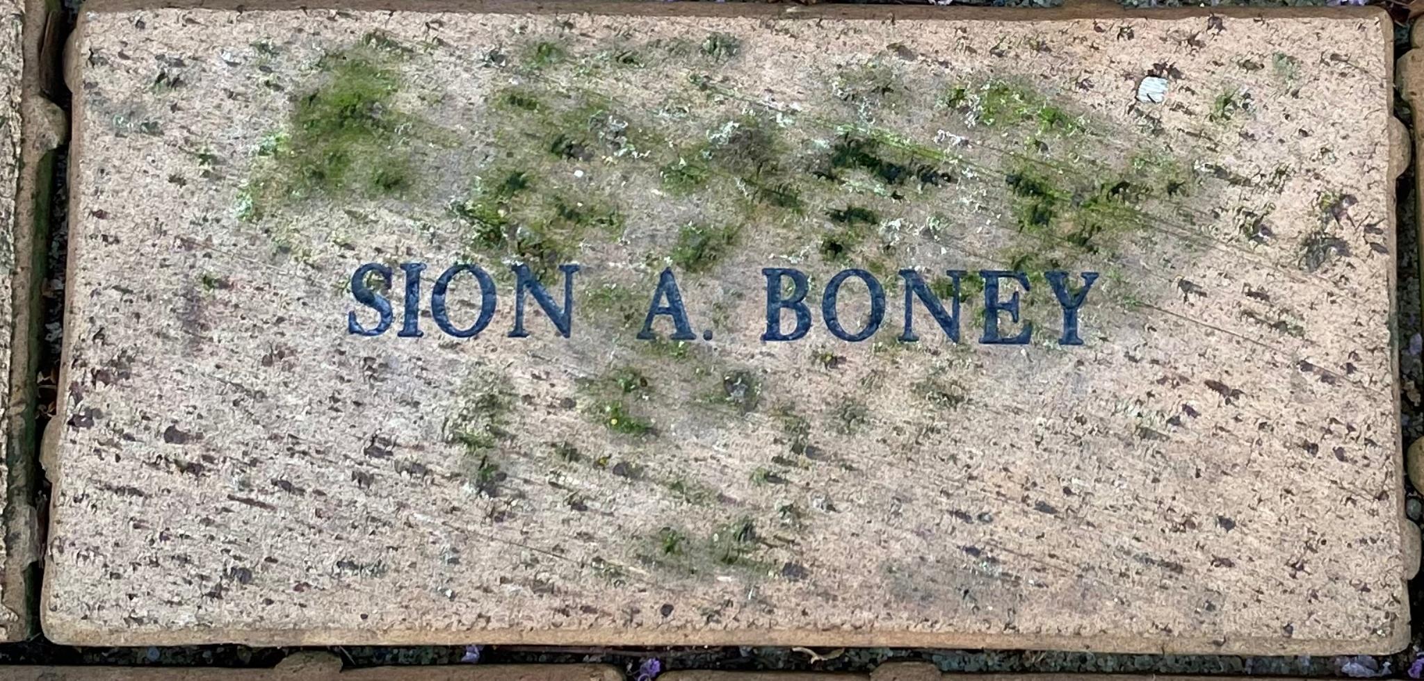 SION A. BONEY